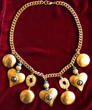 Collier coeurs Henry